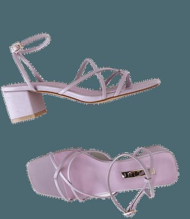 Billini Mica - Lilac Heels - High Heel Sandals - Block Heels - Lulus