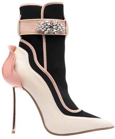 Le Silla Embellished Ankle Boots - Farfetch