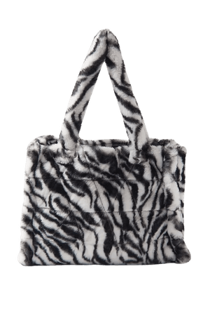 Faux Fur Tote Bag | Urban Outfitters