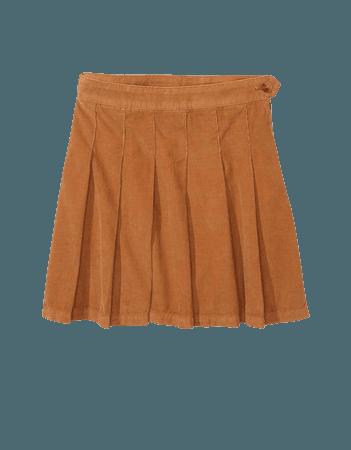 AE High-Waisted Pleated Skirt