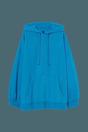 Oversized Hoodie - Blue