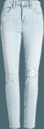 BLANKNYC The Great Jones High Waist Ripped Jeans (Daybreak) | Nordstrom
