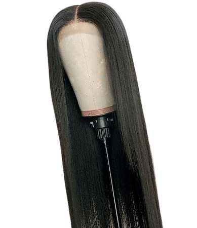 Synthetic Lace Front Wig Straight / Silky Straight Kardashian Style Layered Haircut L Part / Lace Front Wig Black Natural Black Synthetic Hair 26 inch Women's Soft / Heat Resistant / New Arrival Black 2020 - £ 25.19