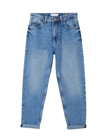 Mom jeans - Denim - Woman   Bershka
