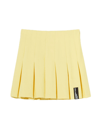 Box pleat mini skirt - Skirts - Woman | Bershka