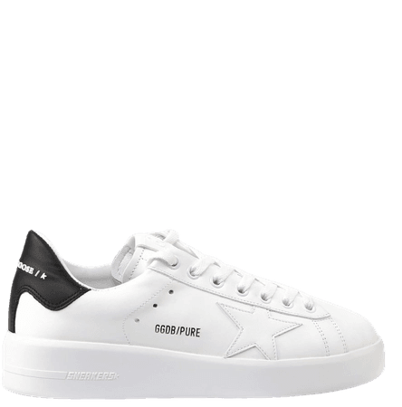 Golden Goose Pure Star Leather Sneaker