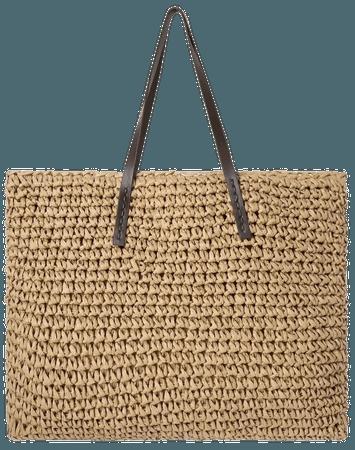 Woven Raffia Tote Bag | SHEIN USA