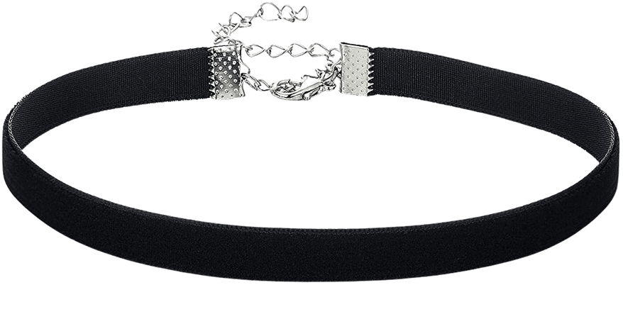 Amazon.com: AnalysisyLove Classic Black Velvet Choker Necklace for Women Girls, Valentines Day Birthday Gifts, Halloween Cosplay Jewelry: Jewelry