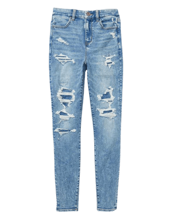 AE Ne(x)t Level Patched Curvy High-Waisted Jegging