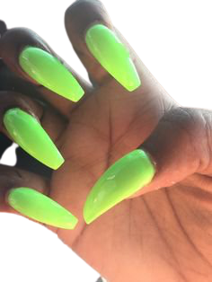lime green nails on black skin - Google Search