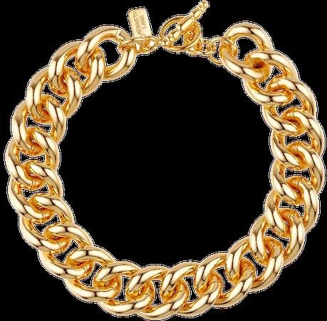 Kenneth Jay Lane T-bar Chain Bracelet - Farfetch