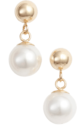 Poppy Finch Pearl Drop Earrings | Nordstrom