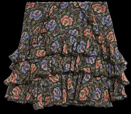 Printed mini skirt - Black   Skirts   Ted Baker