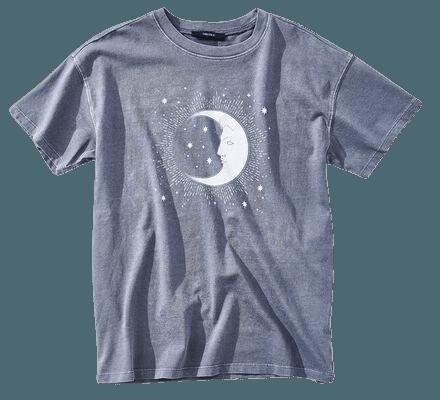 Crescent Moon Graphic Tee