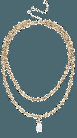 **Pearl Drop Necklace | Topshop