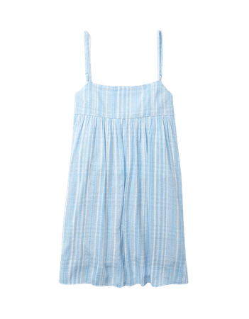 AE Plaid Tie-Back Mini Dress