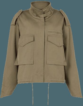 ALLSAINTS US: Womens Amelia Jacket (khaki_green)