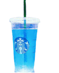 blue starbucks drink - Google Search