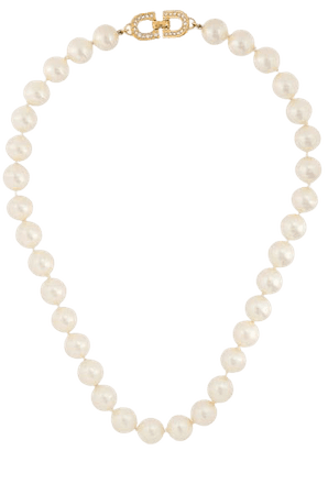 Christian Dior Vintage pearl necklace