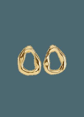 Asymmetric earrings - Women   Mango USA