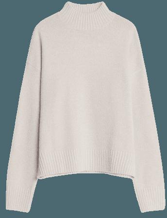 Turtleneck sweater - Sweaters and cardigans - Woman | Bershka