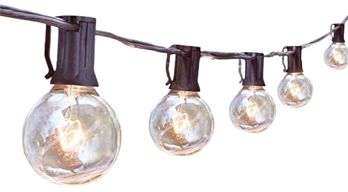 Amazon.com : Outdoor String Lights, G40 25Ft Globe Bulbs Edison Style Patio String Light Lamp, Tungsten Bulbs Christmas String Lights for Garden Porch Backyard Party Yard Christmas Tree Decoration, USA UL Listed : Garden & Outdoor