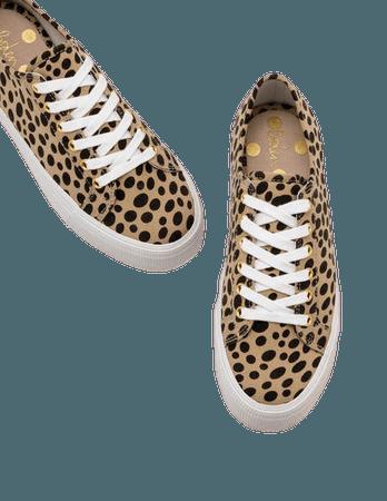 Flatform Sneakers - Natural Cheetah | Boden US