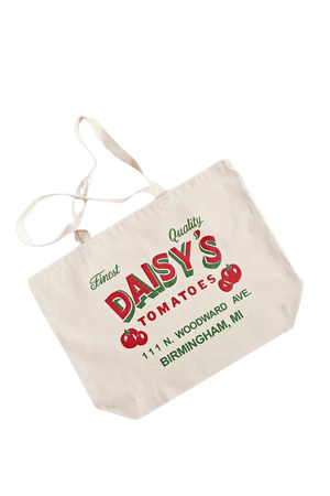Daisy's Tomatoes Tote Bag | Urban Outfitters