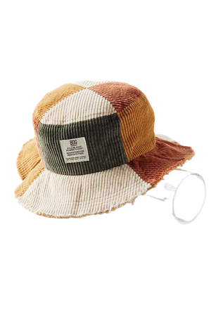 BDG Patchwork Corduroy Bucket Hat | Urban Outfitters