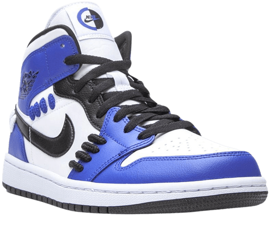 Shop blue Jordan Air Jordan 1 Mid sneakers with Express Delivery - Farfetch