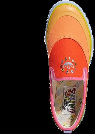 adidas Orginals Pride Nizza slip on sneakers in multi   ASOS