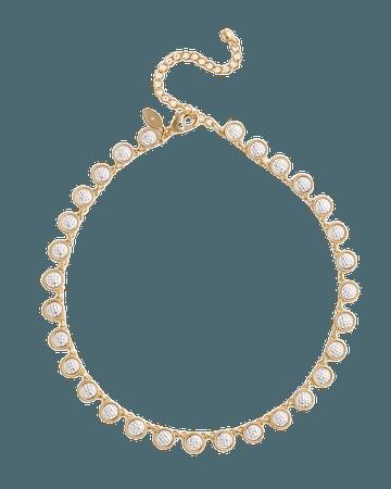 Mixed-Metal Bib Necklace - Chico's