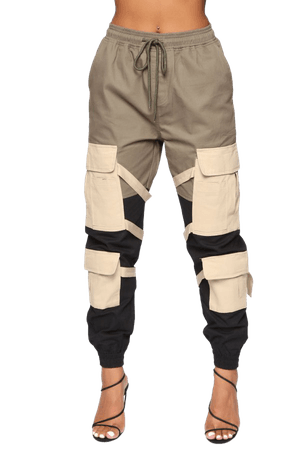 Block It Out Cargo Joggers