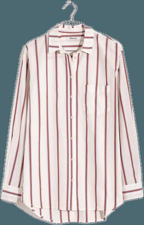 Oversized Ex-Boyfriend Shirt in Odessa Stripe