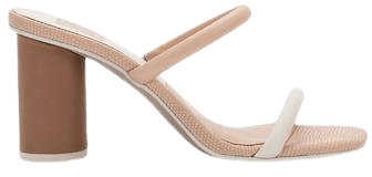 NOLES HEELS IN NATURAL WHITE – Dolce Vita