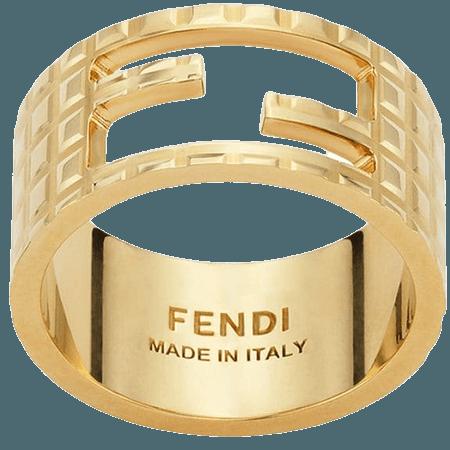 Fendi Bague Baguette - Farfetch