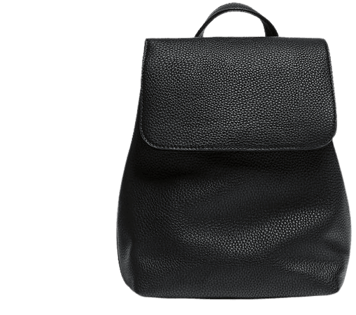 Backpack with flap detail - pull&bear
