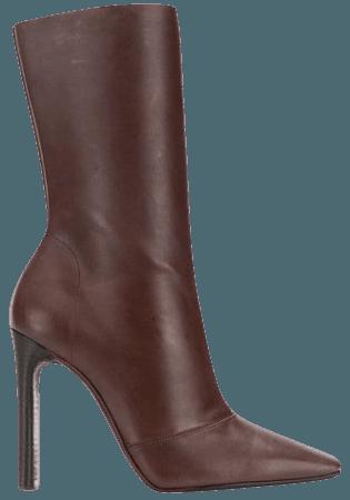 Yeezy Season 7 Square Toe Boots YZ6080084000 Brown   Farfetch