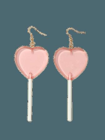 Love Lollipop Drop Earrings | SHEIN USA
