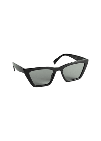 Angular Cat Eye Sunglasses - Black - Cat-eye - & Other Stories US