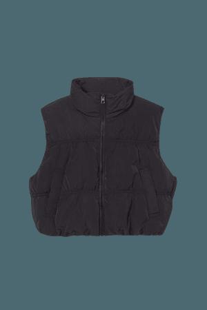 Crop Vest - Black - Ladies   H&M US