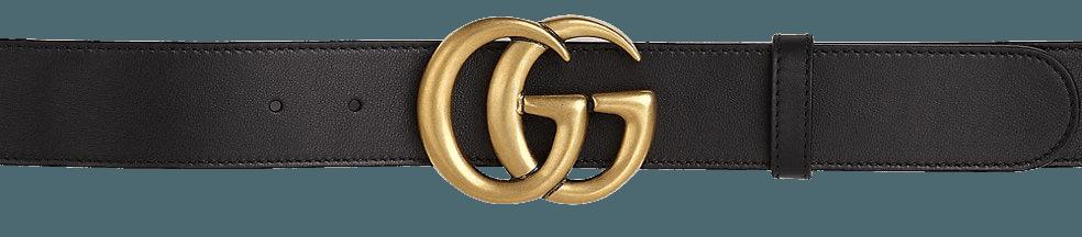 Gucci GG Leather Belt | SaksFifthAvenue