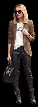 blazer outfit brown - Google Search