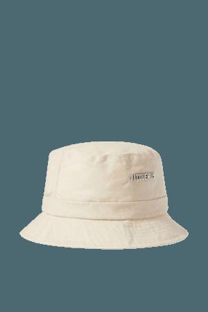 White Le Bob Gadjo cotton-canvas bucket hat   Jacquemus   NET-A-PORTER