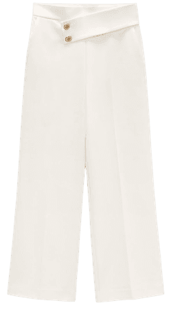 BUTTONED PANTS | ZARA United States