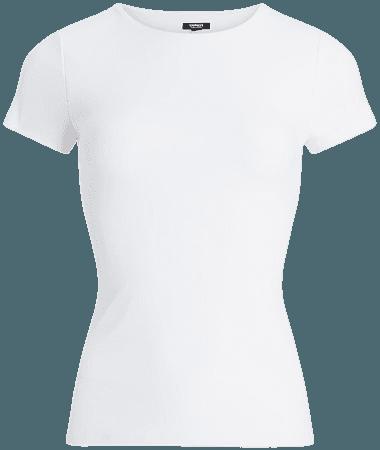 Body Contour High Compression Crew Neck Tee | Express