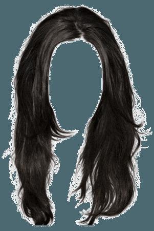 Black Hair PNG