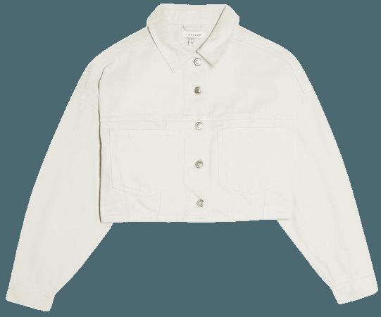 Topshop Crop Denim Jacket | Nordstrom
