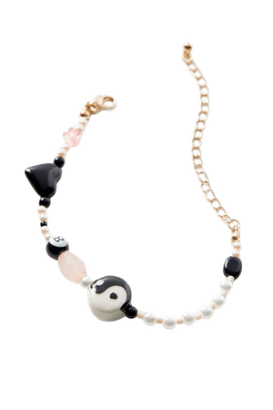 Zoee Beaded Charm Bracelet | Urban Outfitters