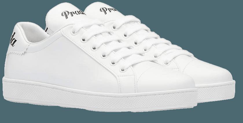 Prada Leather Sneakers 1E565LF005QSZ White   Farfetch